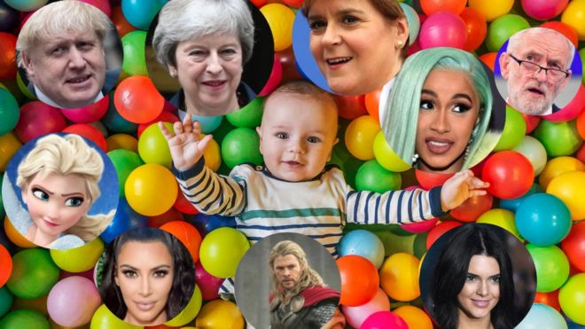 2018 baby names: Scots babies are Awesome and Adora-Belle - BBC News