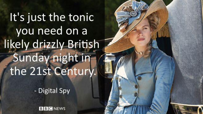 """""""Это всего лишь тоник, который вам нужен, вероятно, в ненастный британский вечер воскресенья в 21 веке""""."""
