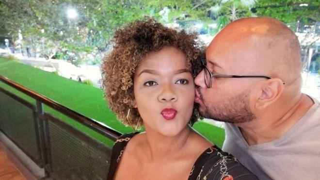 Augusto Itúrburu conoció a su novia Stefany Mideros en 2019 y pensaba viajar a su provincia, Esmeraldas, cuando se recuperara.