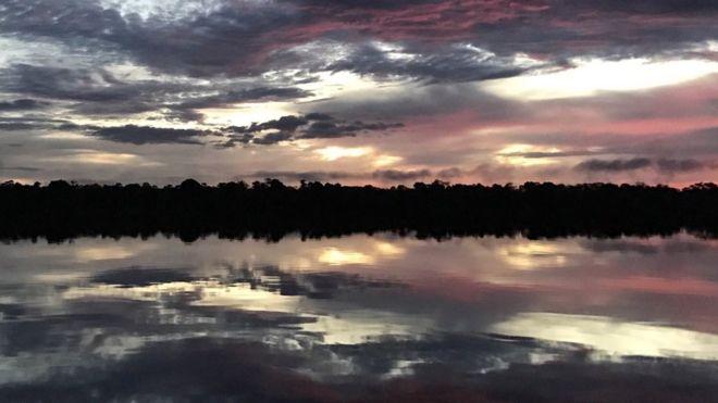 Paisagem do Rio Negro