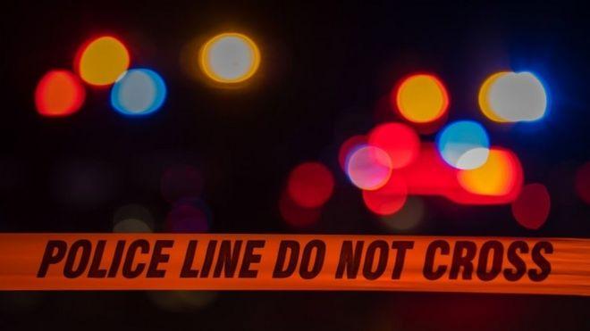 Police tape, file image