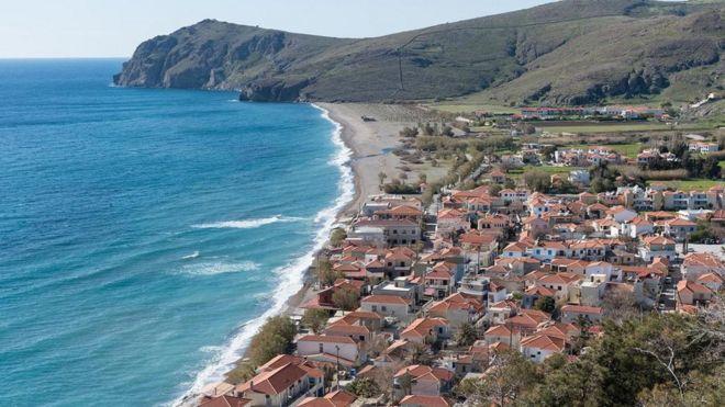 جزيرة ليسبوس اليونانية