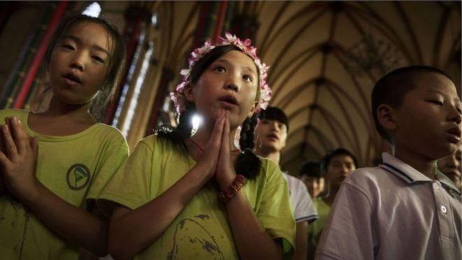 中國天主教徒