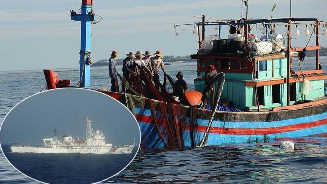 Tàu ngư dân Việt Nam (hình minh họa)