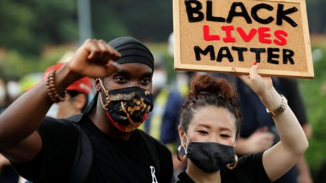 BLM protest in Japan