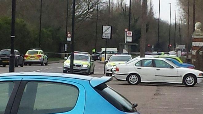 Three Men Hurt In Hounslow Heath Car Boot Sale Fight Bbc News