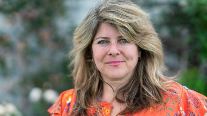 Naomi Wolf, American author, during the 2019 Hay Festival on May 25