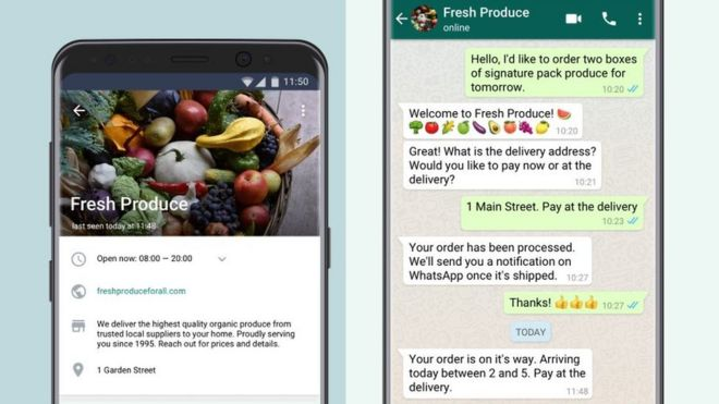 WhatsApp starts charging business users - BBC News