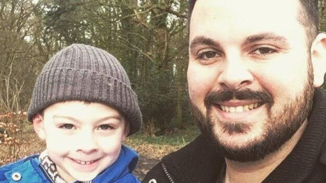 Autistic dad shares his struggles with being a parent - BBC News