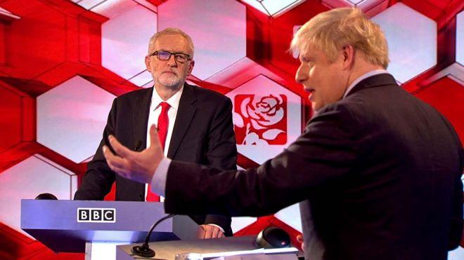 Jeremy Corbyn and Boris Johnson
