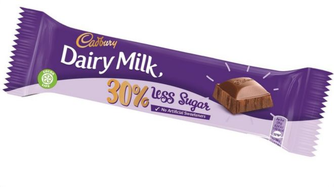 Cadbury S Dairy Milk To Offer Low Sugar Version Bbc News