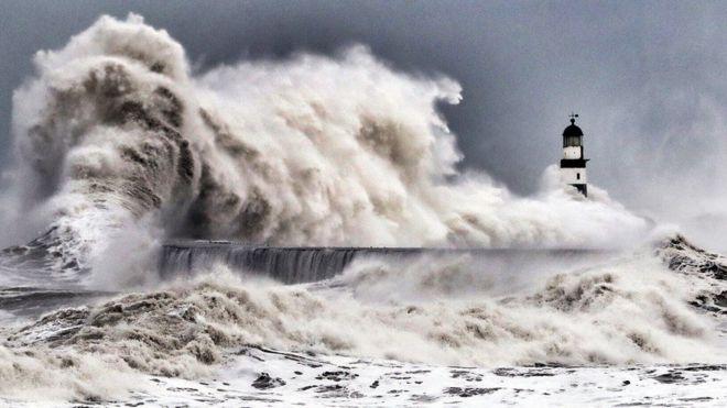 بالصور: الحياة على سواحل بريطانيا