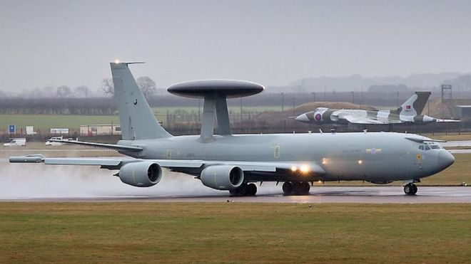 Raf Fleet Of Sentry Aircraft Grounded By Electrical Fault Bbc News