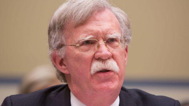 جان بولتون برای بحث درباره ایران وارد اسرائیل شد