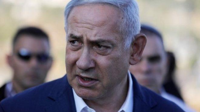Iran haina kinga kokote. alisema waziri mkuu wa Israeli Benjamin Netanyahu