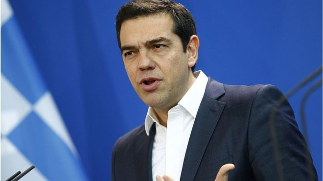 Greek Prime Minister, Alex Tsipras