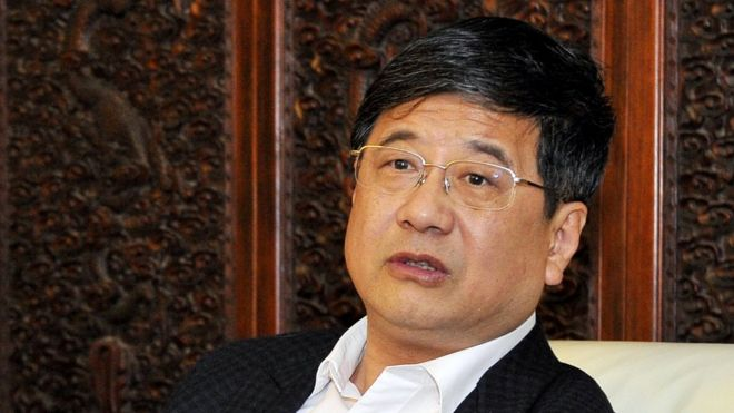 Zheng Xiaosong in a file photo taken on 14 January 2016