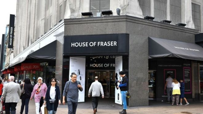 82a2d0e0ab251 Mike Ashley vows to keep most House of Fraser stores open - BBC News