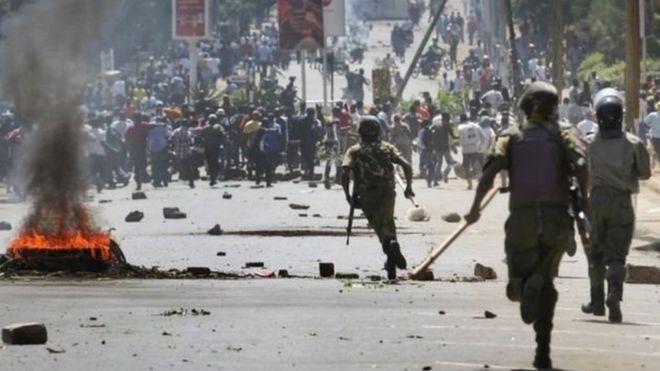 Ghasia za uchaguzi za mwaka 2017