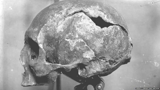 8f299c6a16 The day they found a Viking martyr in a hole in a wall - BBC News