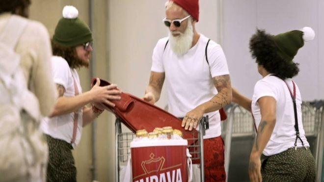 """Papai Noel"" da Itaipava"
