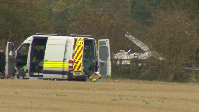 Beverley Airfield crash pilot became 'disorientated' - BBC News