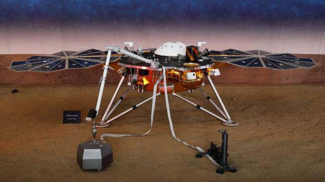 اینسایت برای نخستین بار درباره عمق مریخ کاوش می کند