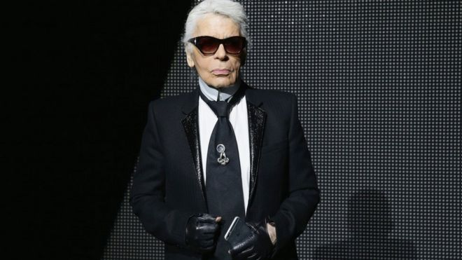 f02648543 The controversial genius of Karl Lagerfeld - BBC News