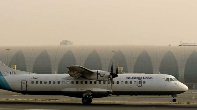 Aseman Airlines опровергла данные о технических неполадках самолета, разбившегося в Иране