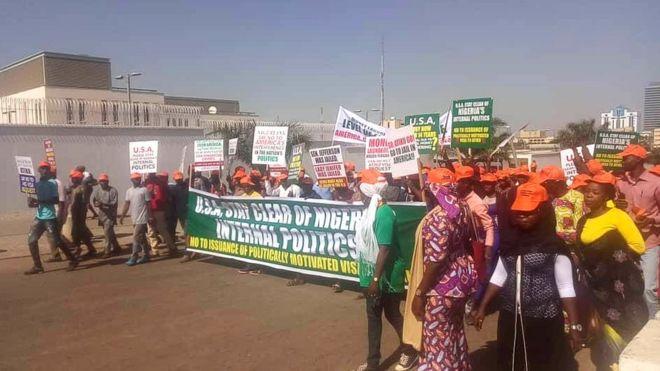 Atiku Abubakar: Protesters no want American Embassy to give