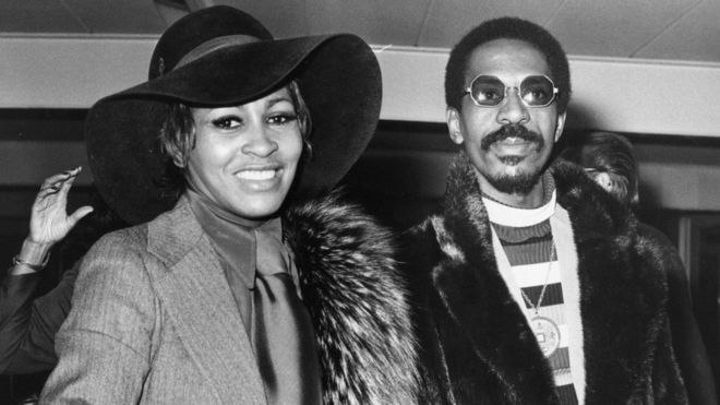 Tina and Ike Turner in 1972