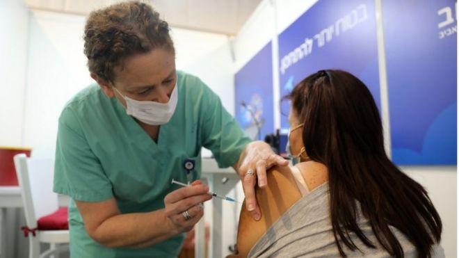 Vacunación en Israel