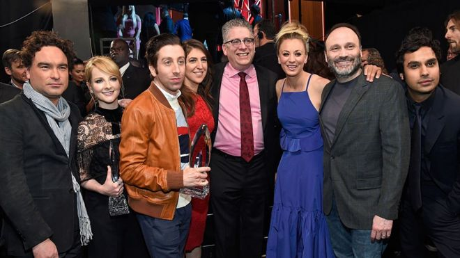 Big Bang Theory Americas Most Loved And Hated Tv Show Bbc News