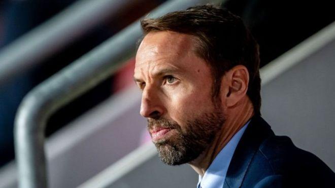 kocha wa timu ya taifa ya England Gareth Southgate