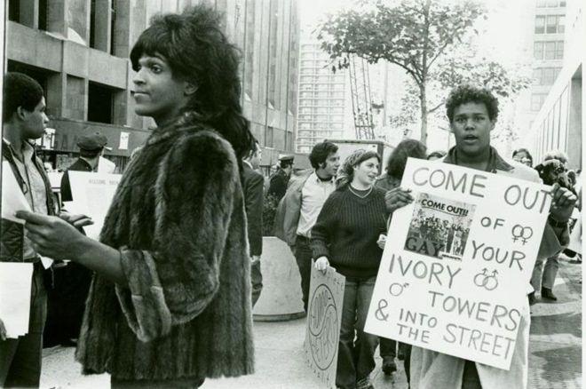 مارشا پی جانسون نقش مهمی در شورش استونوال داشت و از او به عنوان قهرمان یاد میشد