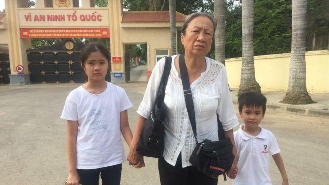 Gia đình đã đến thăm bà Nguyễn Ngọc Như Quỳnh hôm 31/5