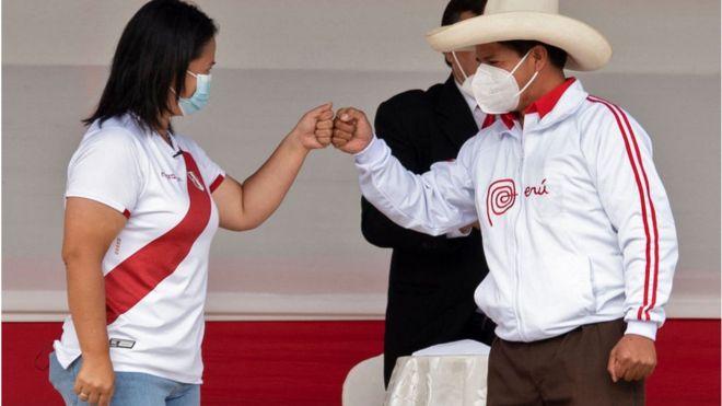 Fujimori y Castillo