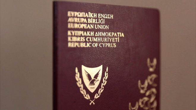 Cyprus passport, file pic