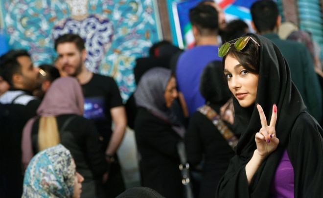 Who Knew Some Of The Iranian Woman Looked Like This Under -4044