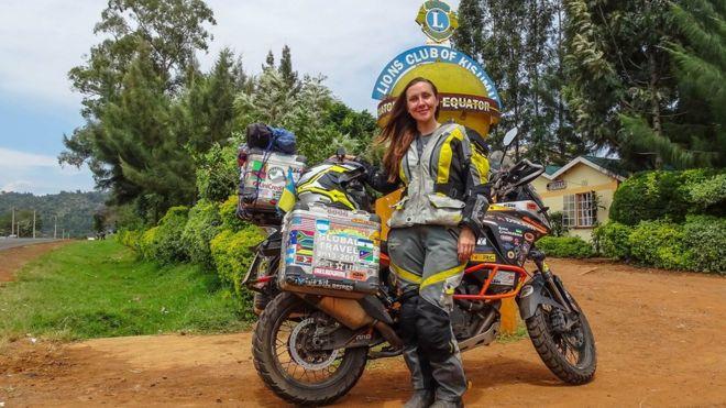В Кенії Анна перетнула екватор