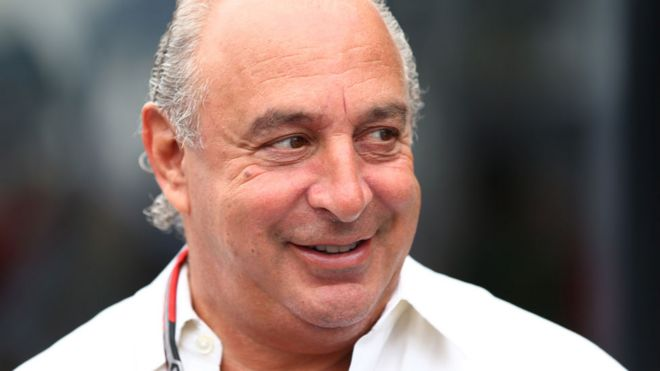 98fc5ed81a6 Sir Philip Green named over harassment claims - BBC News