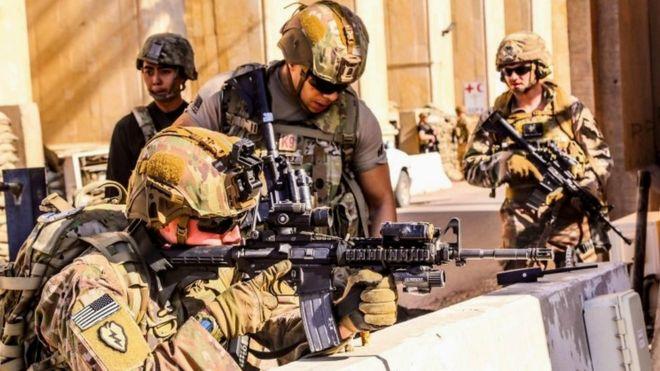 Maaskari wa Marekani waliopo Iraq