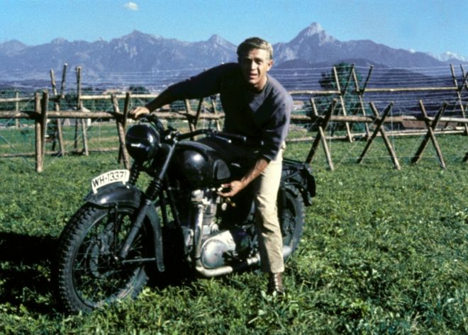 The Great Escape.Triumph Motorcycle Exhibition The Great Escape Bike On Show