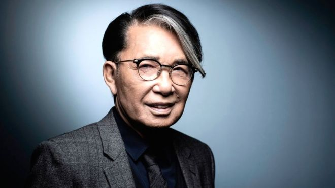 Japanese-French fashion designer Kenzo Takada