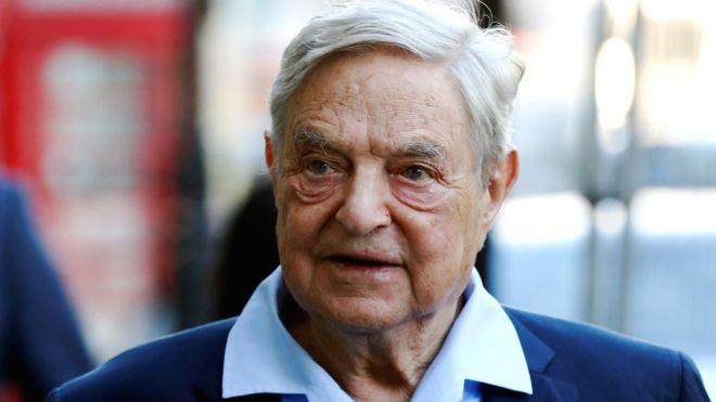 George Soros, Billionaire, Pipe Bomb
