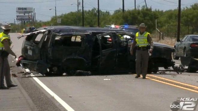 کشتهشدن پنج مهاجر بدونمدرک در تعقیب و گریز پلیس تگزاس