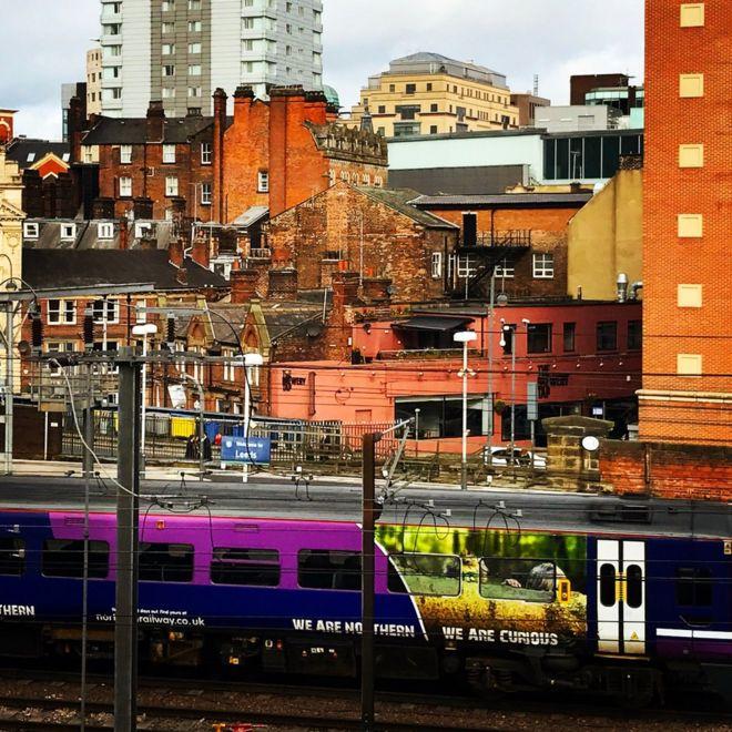 مباني ومحطة قطارات
