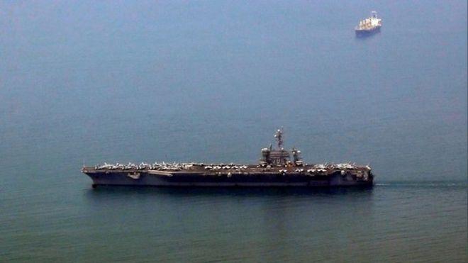 Tàu sân bay USS Carl Vinson