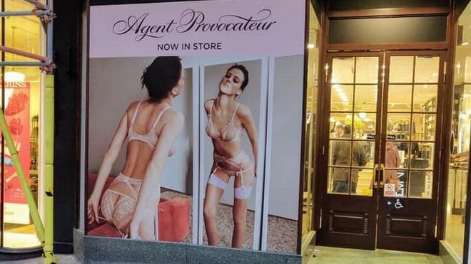 fbcbe92907 Agent Provocateur shop displays branded  pornographic  - BBC News