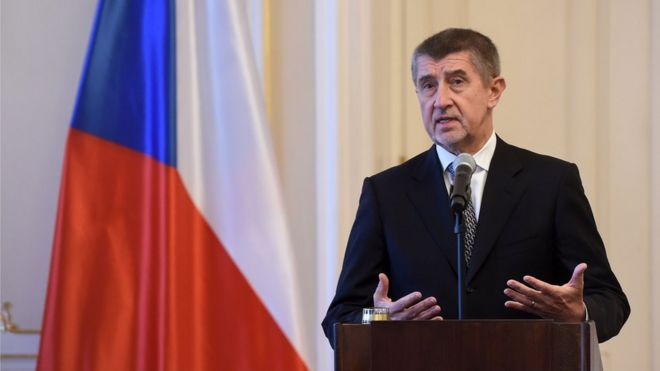 Andrej Babis: Czech PM denies son was kidnapped - BBC News